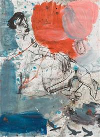 Reclining with Red-John Oxborough
