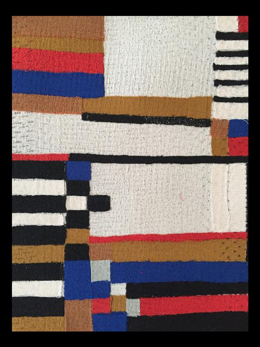 Book covers - textiles of the Bauhaus by Julia Holderness
