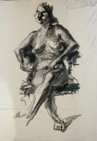 Untitled Drawing (La Donna)